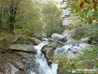 Parque Natural Saja-Besaya y Valderredible (Monte Hijedo) senderismo nivel medio viaje senderismo ve